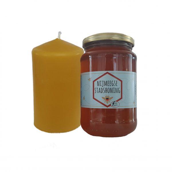 kaars en honing
